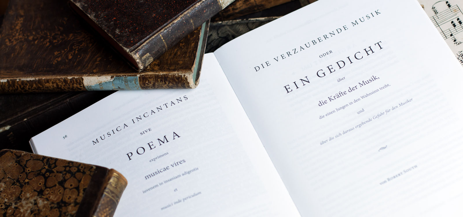 The title page in Latin and German.