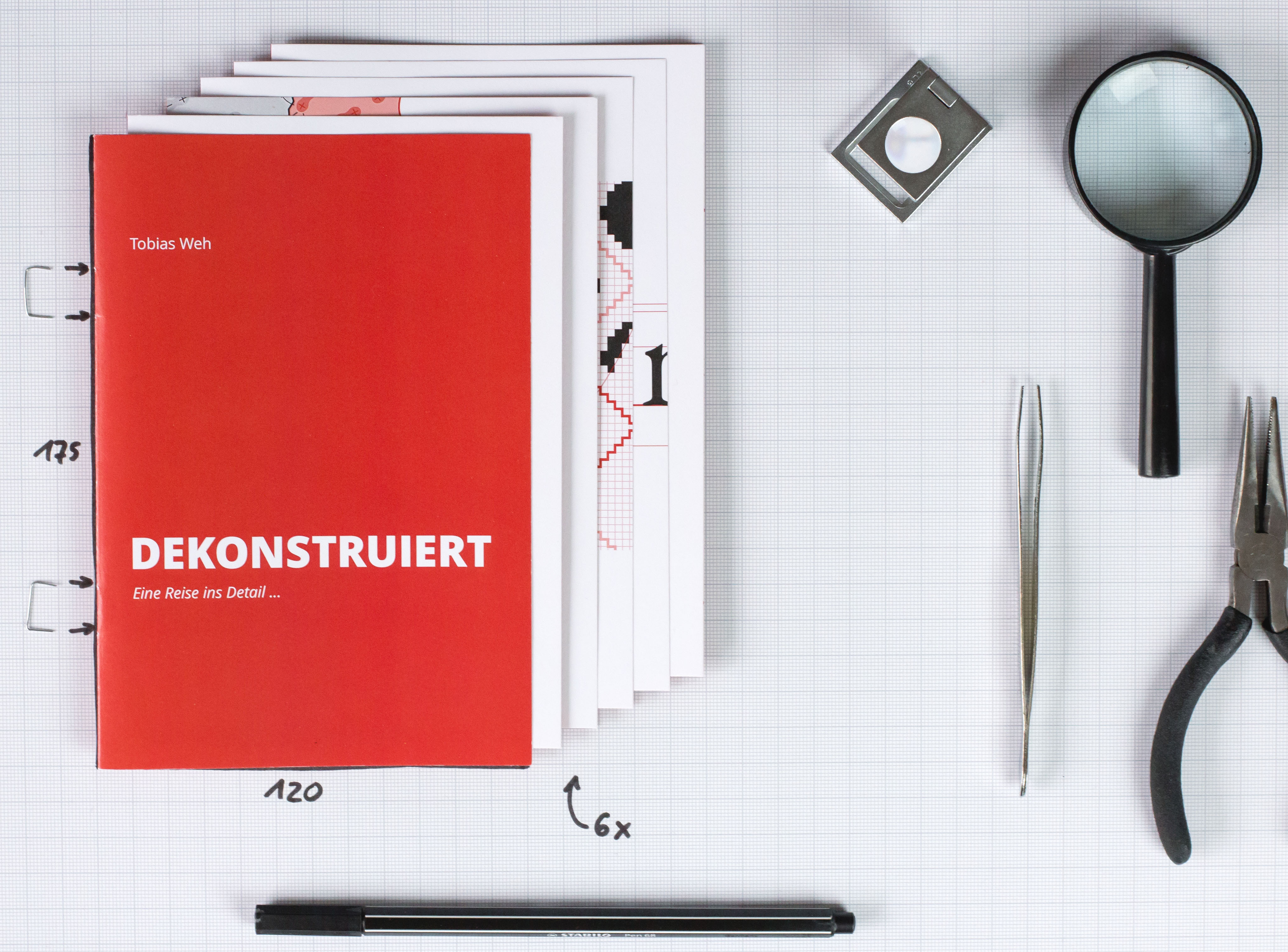 The cover of _Dekonstruiert_.
